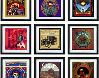 Grateful Dead - Framed Album Art - Collector Series