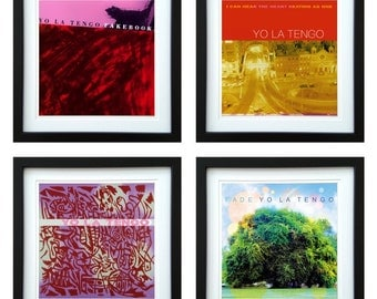 Yo La Tengo - Framed Album Art - Set of 4 Images