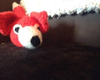 Crochet Red Fox