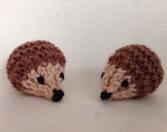 Knitted Hedgehog