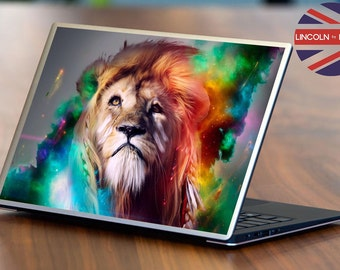 Laptop Decal / Skin Mystic Lion