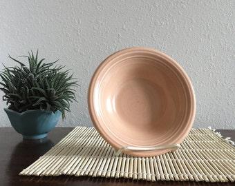 "Fiestaware Fiesta Apricot Stacking Bowl by Homer Laughlin 6.5"""