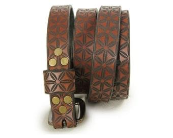 Premium Italian Leather Womens Belt - Minna