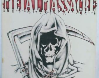 Metal Massacre IV V/A Compilation Rare LP Lizzy Borden 1983 Metal Blade