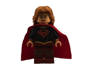 LEGO minifigures Custom - Superwoman Made with Original LEGO Parts