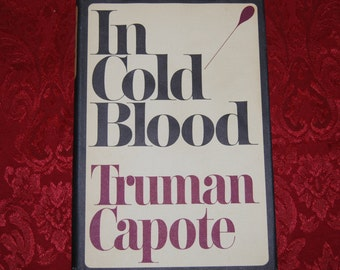 In Cold Blood by Truman Capote First Edition Fifth Printing