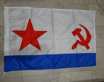 Flag of the ships and submarines navy of the USSR