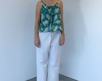 Linen pants & cami set