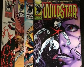 Image Comics Wildstar 1-4, 1993