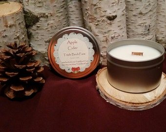 Apple Cider Soy Candle *Discount* - 8 ounce