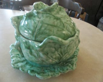 Cabbage Bowl and Dish