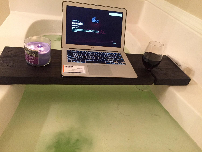 salle de bain en bois plateau de bain fait la main porte. Black Bedroom Furniture Sets. Home Design Ideas