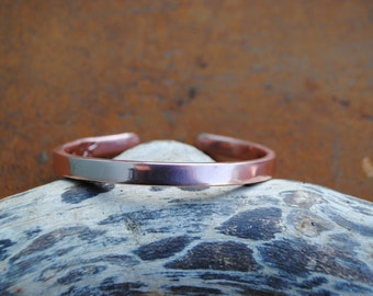 Luxury Hand Forged Copper Bangle