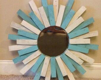 Sunburst mirror