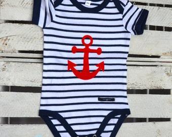 Body anchor Ahoy blue/white