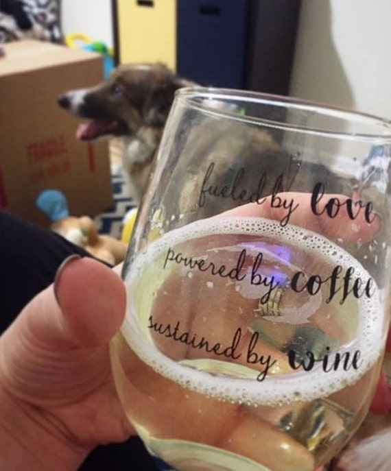 Motherhood Defined Signature Stemless Wine glass
