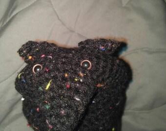 Crochet hand puppet 'maxwell'