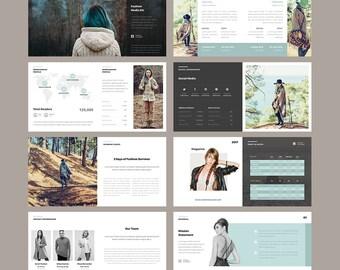 Magazine Media Kit Template - Press Kit Template