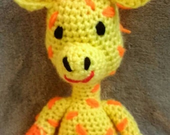 Andy the amigurumi giraffe