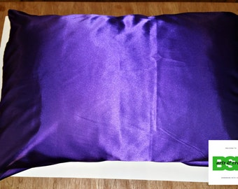 Any Color Satin Pillow Case
