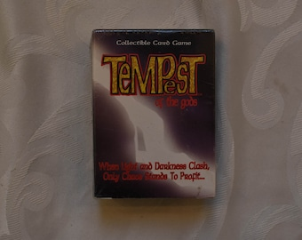Black Dragon Tempest of the Gods Collectible Card Game 1995 New Sealed