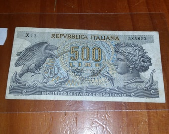 1967 Ciculated Italy Currency