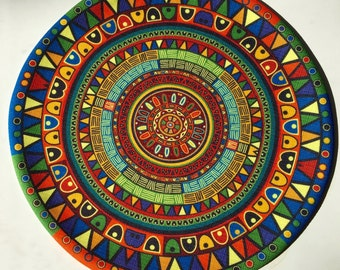 African placemat