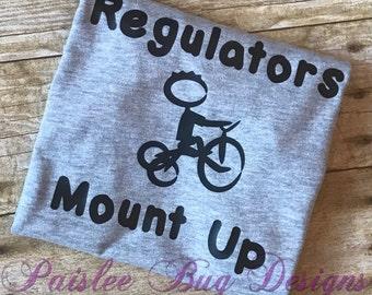 Regulators Mount Up Shirt, Regulators Shirt, Toddler Boy Shirt, Baby Shower Gift, Baby Boy Shirt, Toddler Girl Shirt, Toddler Gift