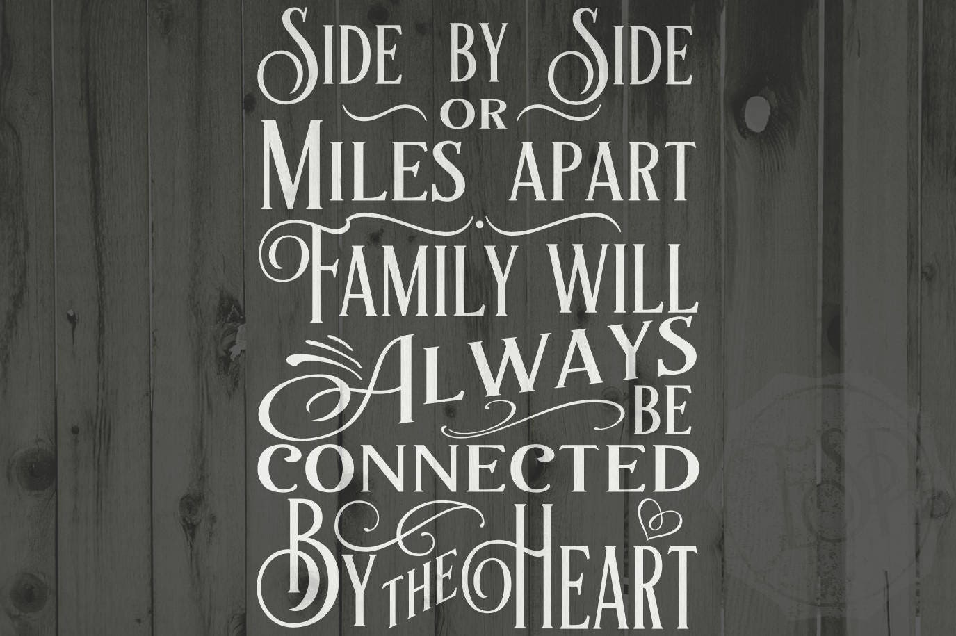 Svg File Family Svg Side By Side Or Miles Apart Family