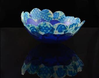 Fine art paper bowl