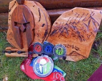 Spartan Race Medal Display Rack
