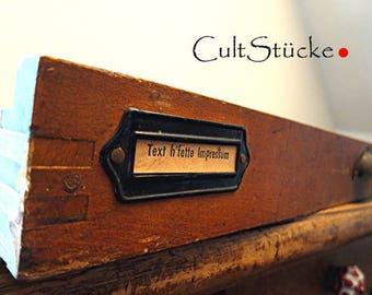 Vintage wash of letterpress wood (7)