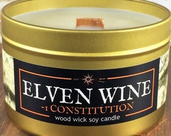 """ELVEN WINE Candle 