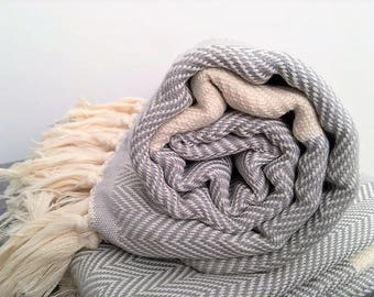B E R L I N. All-purpose turkish towel, scarf, blanket, inspired by adventure - travel towel, bath towel, picnic blanket perfect for travel