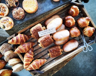 French Kitchen Art, Provence Photography, Provence Wall Art, La Boulangerie Photo