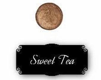 Pressed mineral eyeshadow - Sweet Tea