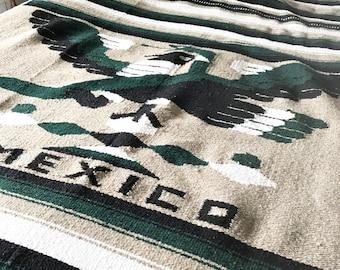 Vintage Large Mexican blanket