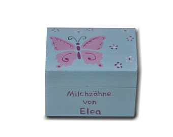 "Milk tooth box ""Butterfly"""