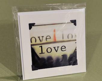 Valentines Day Card w/ envelope, blank inside