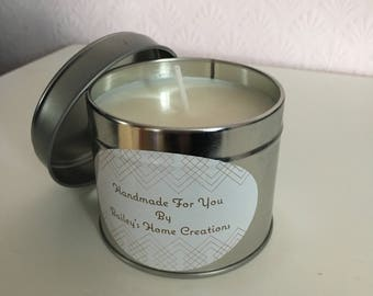 Tinned Scented Soy Candle