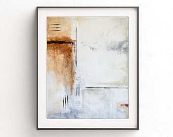 Abstract print digital download printable wall decor art print neutral abstract painting modern brown home decor design contemporary artwork