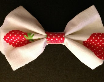 Strawberry Patch Hairbow