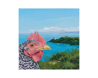 Pina, Howth chicken print