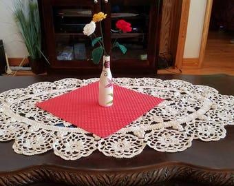 Crocheted Floral Arrangements