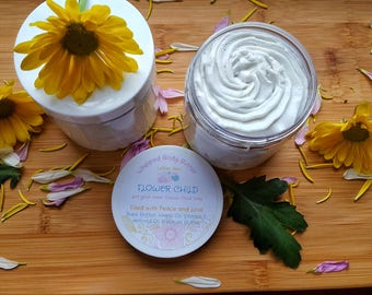 FlowerChild.Whipped Body Butter/Dry Skin.Body Butter/Moisturizing.Whipped Body Butters/Sensitive Skin.Body Butter/Sweet.Patchouli Perfume.