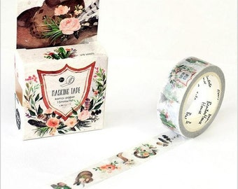 There is Flowers in my Boot Washi Tape