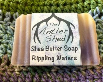 Rippling Waters Shea Butter Handmade Soap