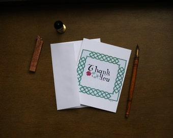 Celtic Thank You Notes Card Set
