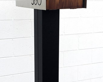 "MODERN MAILBOX POST - 6"" square"