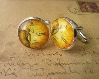 Cuff links ~ vintage men ~.